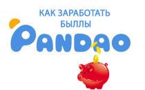 Способы получения баллов на Пандао